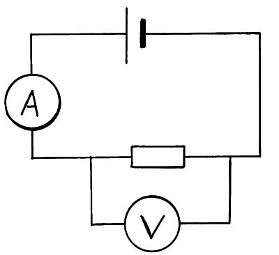 Current Voltage Characteristics on parallel heater diagram